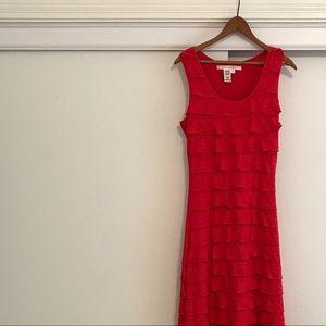 Red Maxi Dress By Max Studio